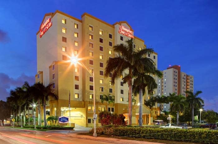 Hampton Inn & Suites by Hilton Miami Airport South, Blue Lagoon