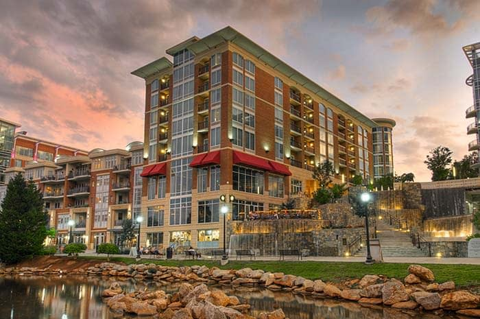 Hampton Inn Riverplace Greenville